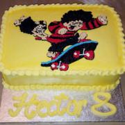 denis the menace cake
