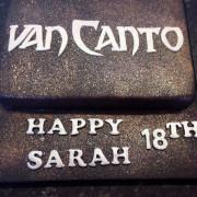 Rock band cake -Van Canto