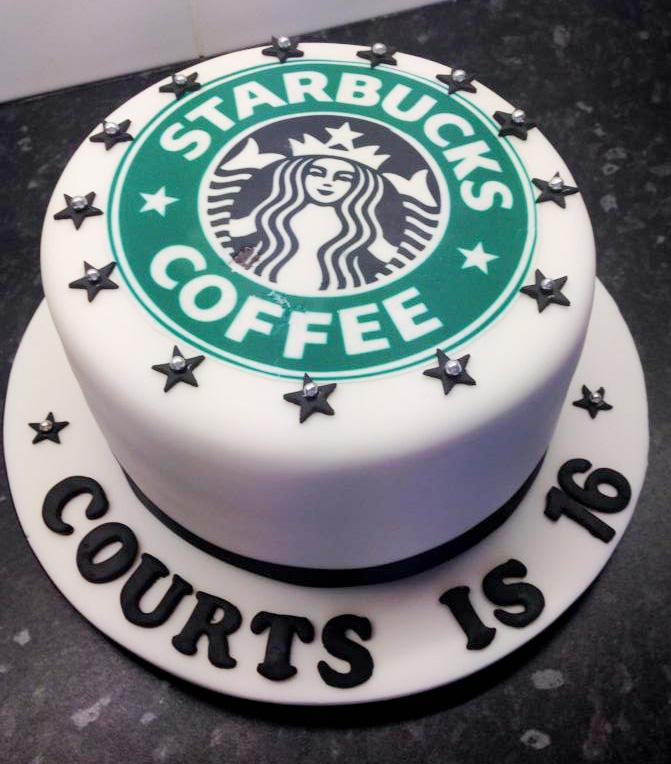 Starbucks Cake Design