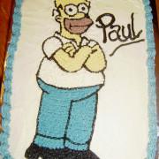 simpson's cake